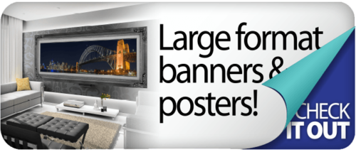 Banner and Wide-Format Photo Printing