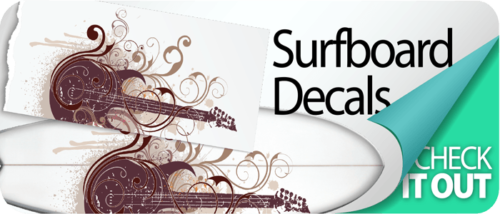 Your Artwork to Surf Decals
