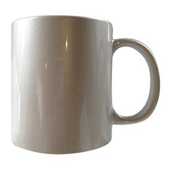 pearl 11oz mug,paint dribbles design,
