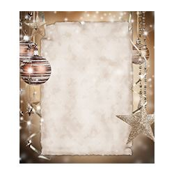 Christmas Wishes Frame,