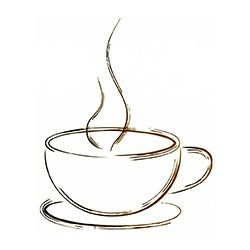 Steamy Coffee Cup,Steamy Coffee Cup Premium Design,