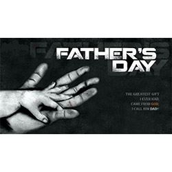 Loving Hands Fathers Day Design
