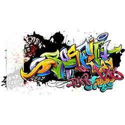 Graffiti Name Plate Design,Graffiti Drink Bottle Design,Graffiti Design Bottle Pencil Case & Lunch Box Sets,,Graffiti School Drink Bottle Design