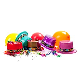Happy New Year Party Hats,